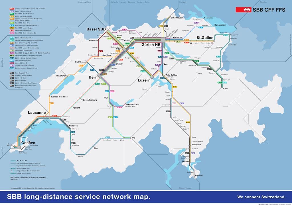 Swiss Railway Network