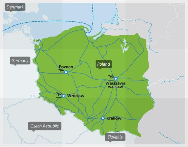 Polish Railway Network