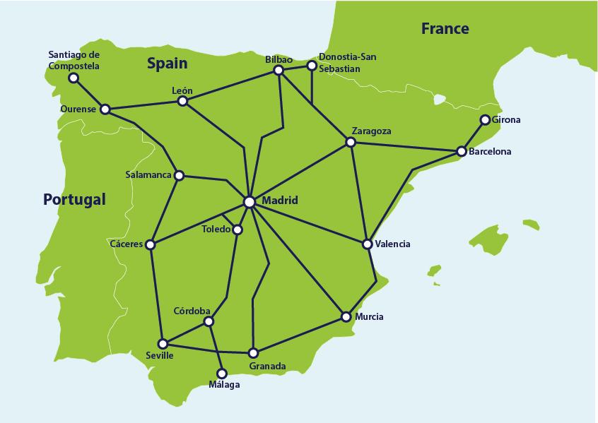 Spanish Railway Network
